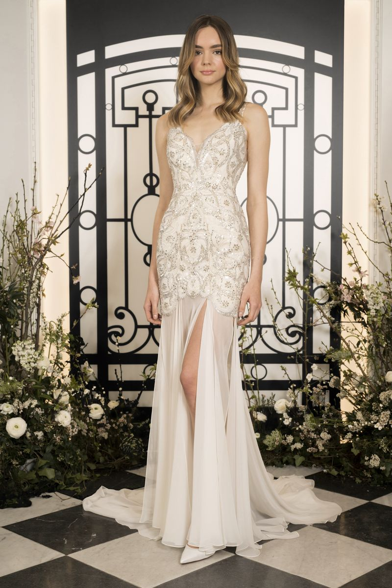 Vida Wedding Dress from the Jenny Packham 2020 Bridal Collection