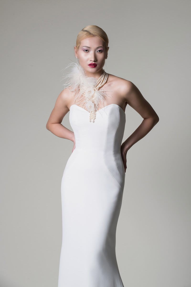 Willow Wedding Dress from the Alan Hannah Moonshadow 2020 Bridal Collection