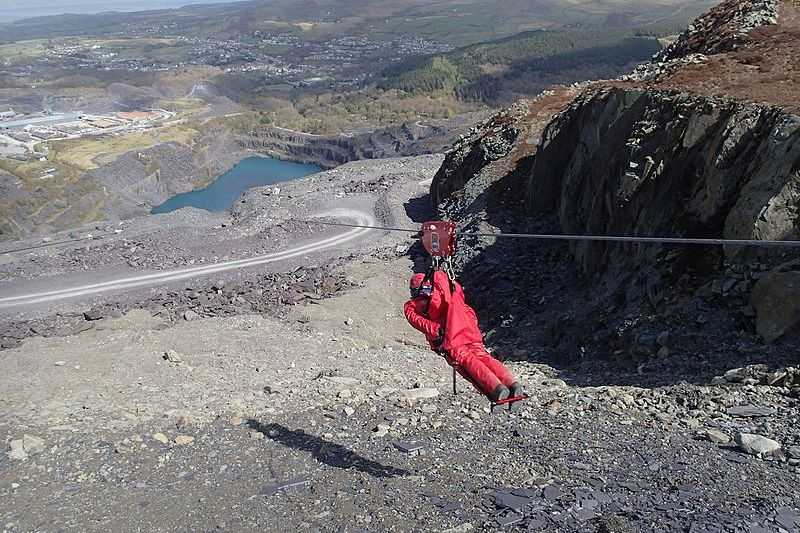Zip Wire in Wales