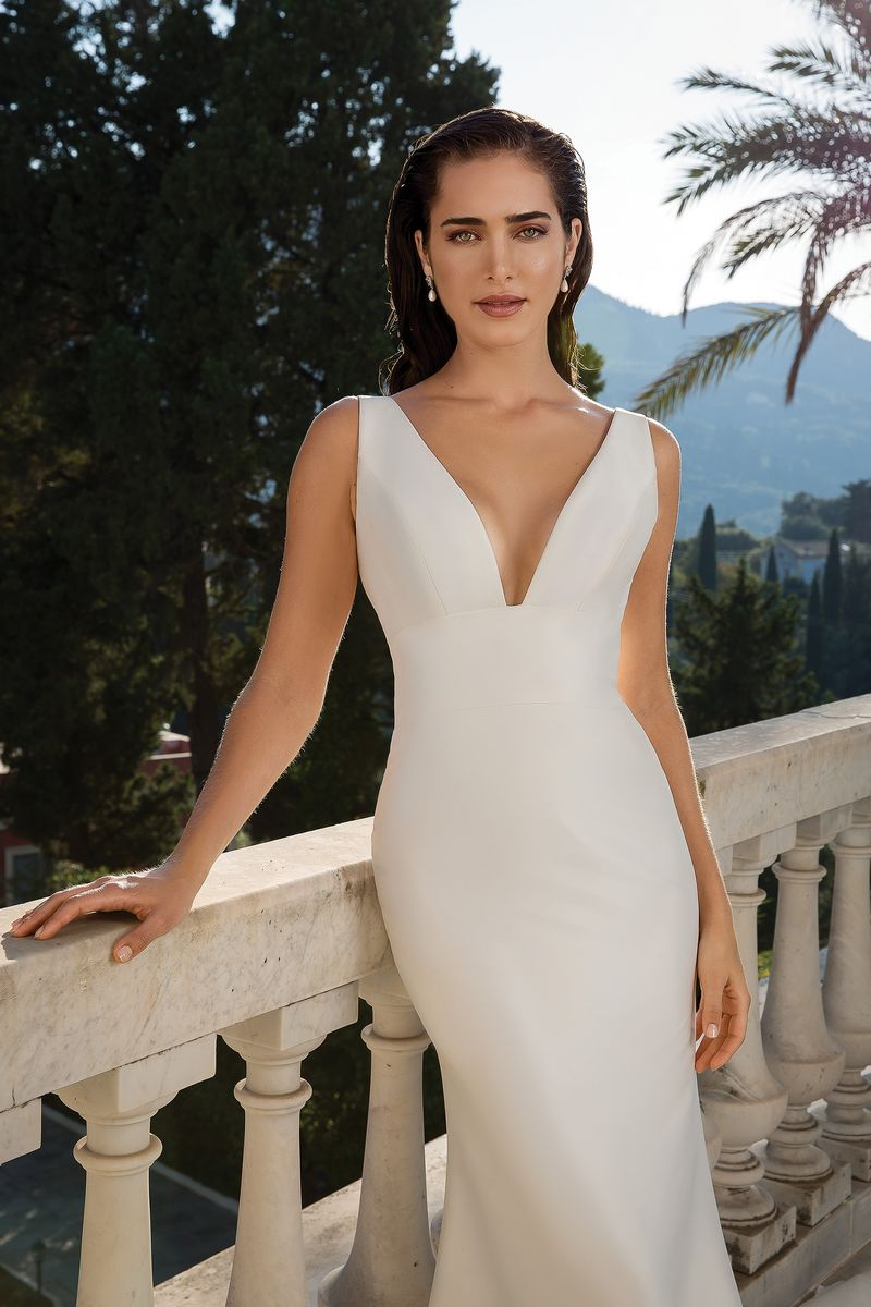Detail on Style 88071 Wedding Dress from the Justin Alexander Fall/Winter 2019 Bridal Collection