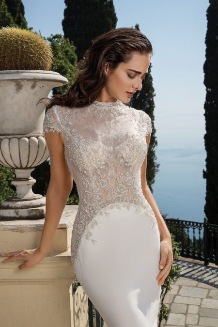 Detail on Style 88073 Wedding Dress from the Justin Alexander Fall/Winter 2019 Bridal Collection