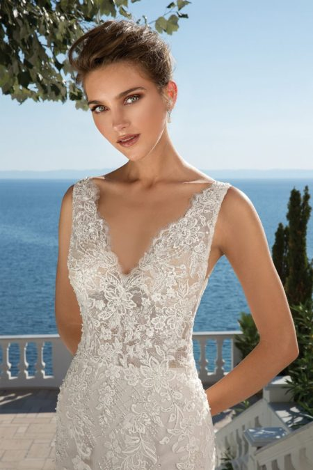 Detail on Style 88077 Wedding Dress from the Justin Alexander Fall/Winter 2019 Bridal Collection