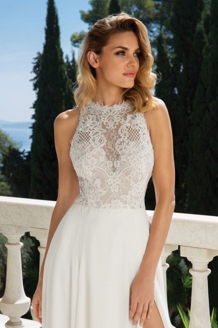 Detail on Style 88080 Wedding Dress from the Justin Alexander Fall/Winter 2019 Bridal Collection