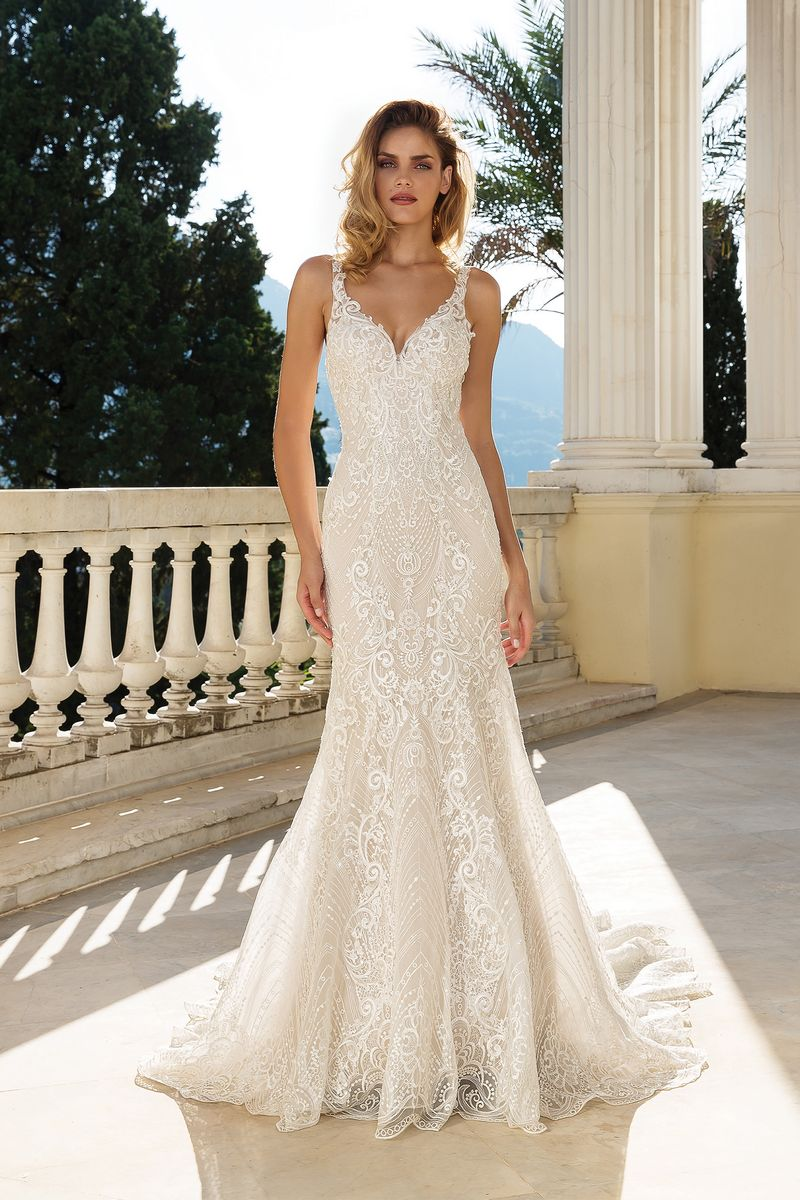 Style 88088 Wedding Dress from the Justin Alexander Fall/Winter 2019 Bridal Collection