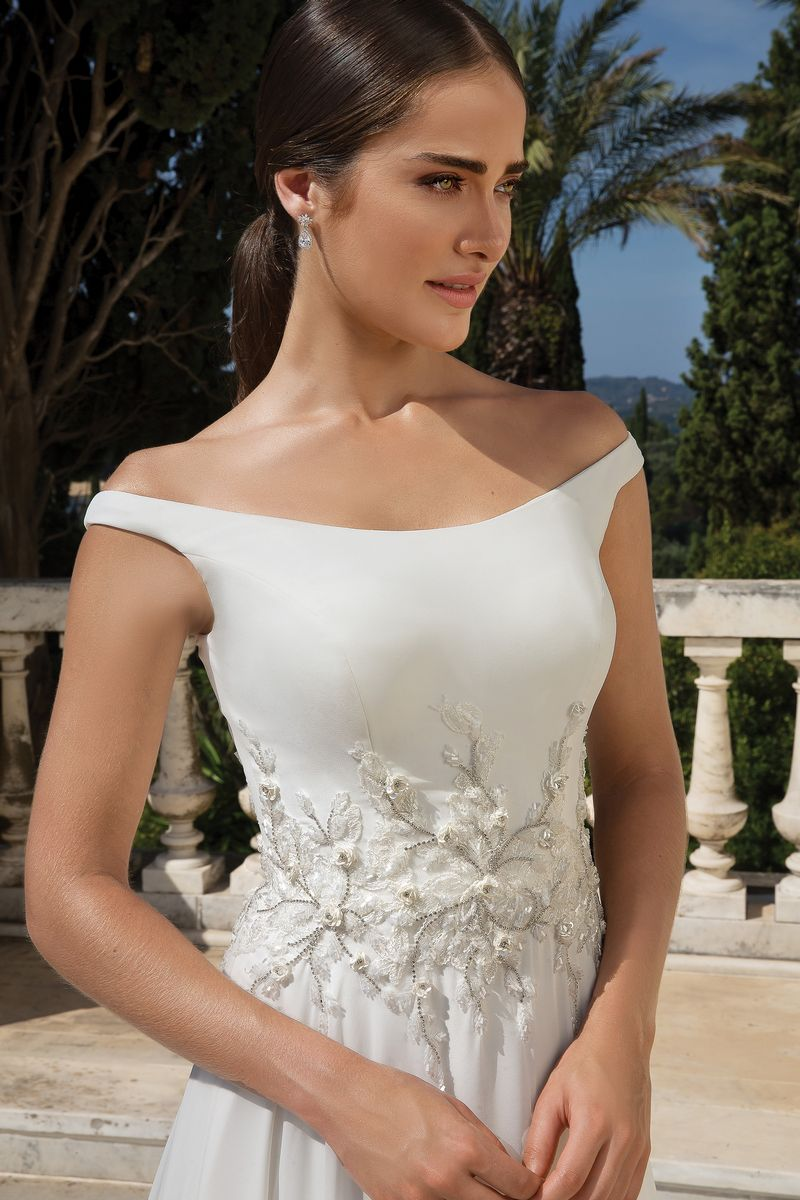 Detail on Style 88092 Wedding Dress from the Justin Alexander Fall/Winter 2019 Bridal Collection