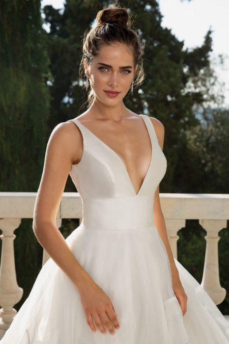 Detail on Style 88093 Wedding Dress from the Justin Alexander Fall/Winter 2019 Bridal Collection