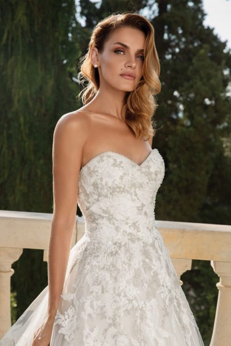 Detail on Style 88098 Wedding Dress from the Justin Alexander Fall/Winter 2019 Bridal Collection
