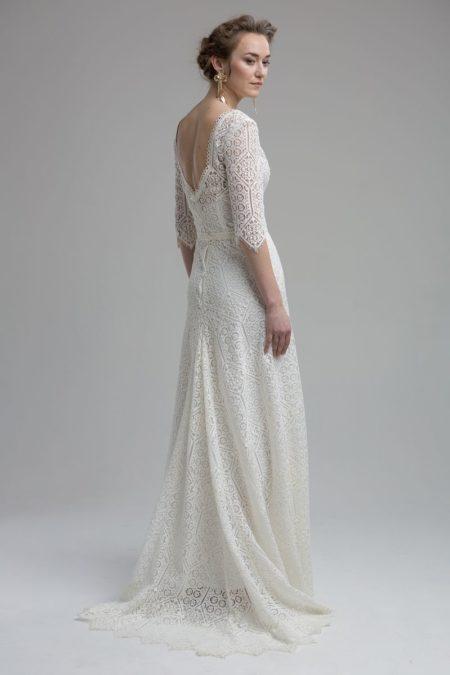 Back of Acadia Wedding Dress from the KATYA KATYA Wanderlust 2018-2019 Bridal Collection