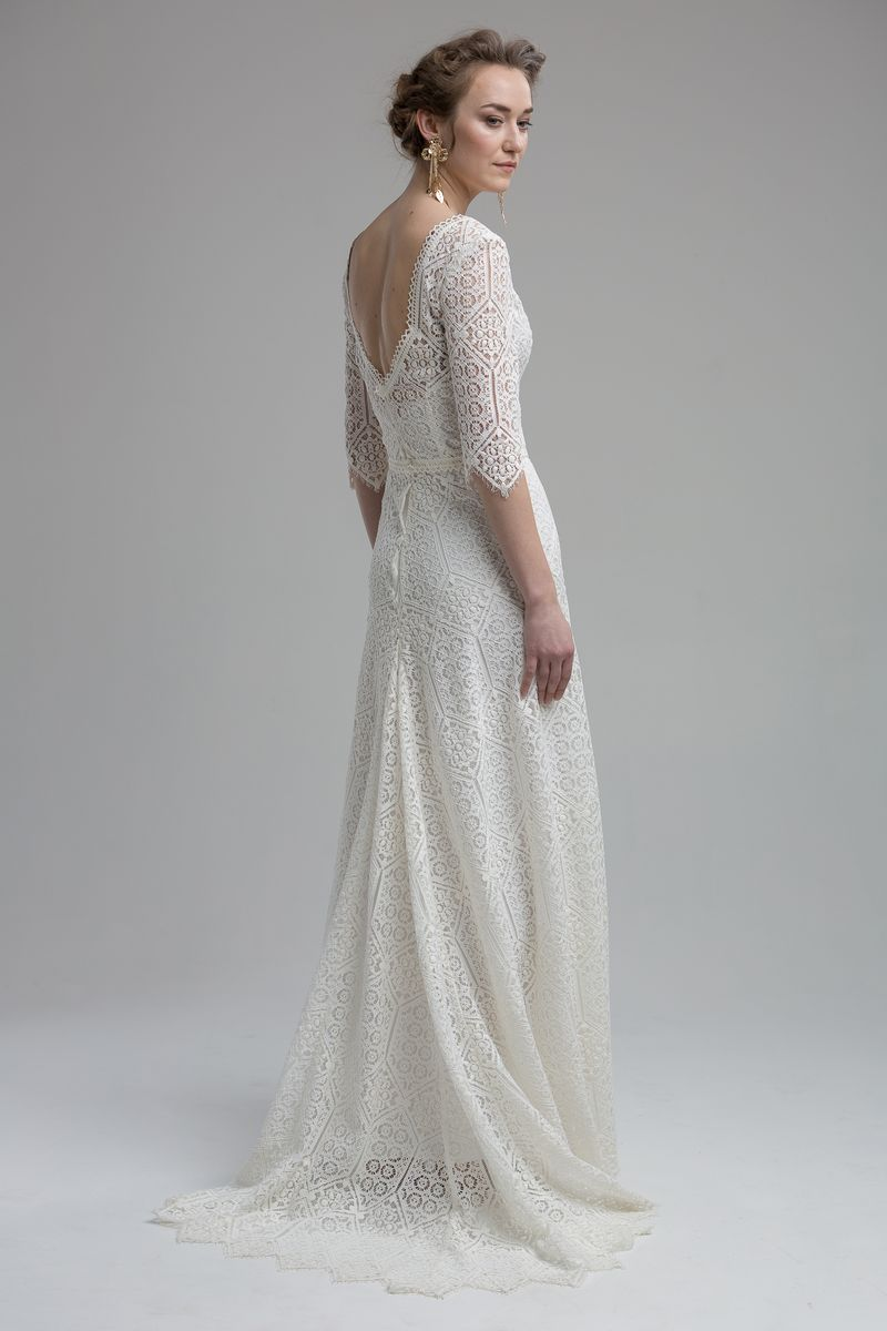 Back of Acadia Wedding Dress from the KATYA KATYA Wanderlust 2018-2019 Bridal Collection