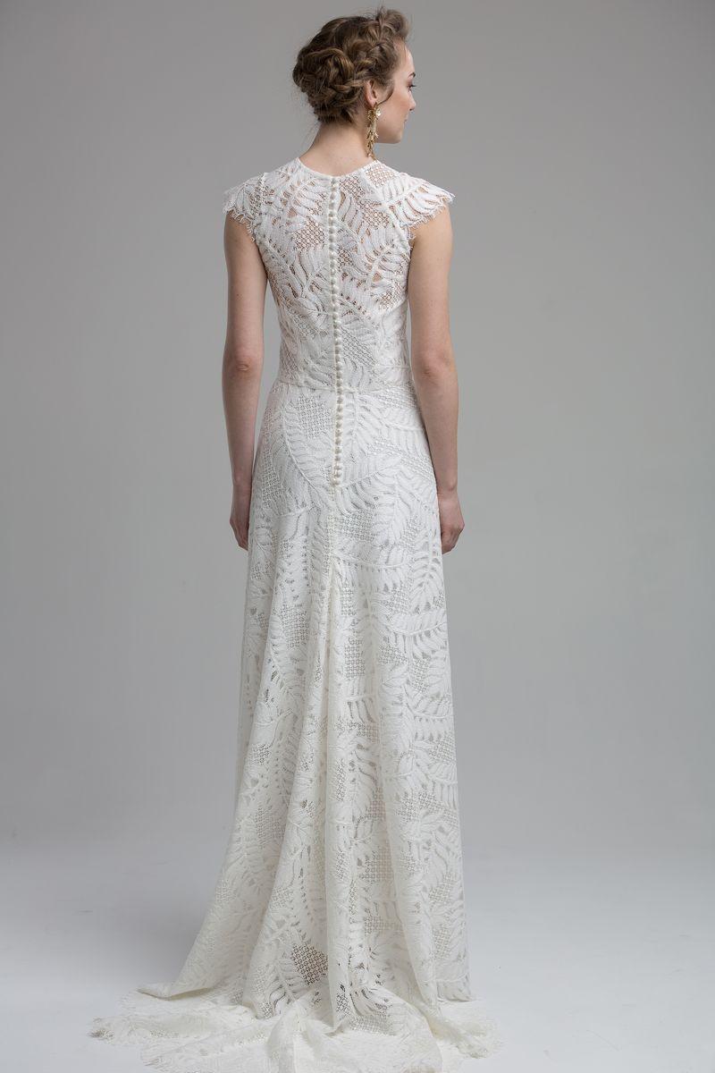 Back of Adelaide Wedding Dress from the KATYA KATYA Wanderlust 2018-2019 Bridal Collection