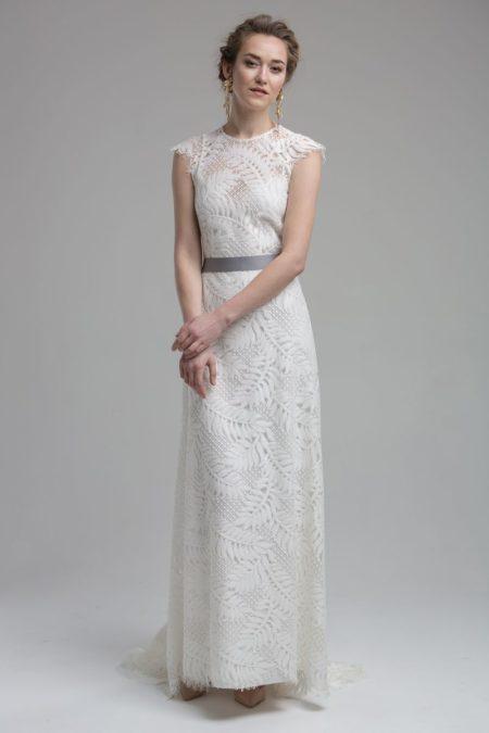 Adelaide Wedding Dress with Belt from the KATYA KATYA Wanderlust 2018-2019 Bridal Collection