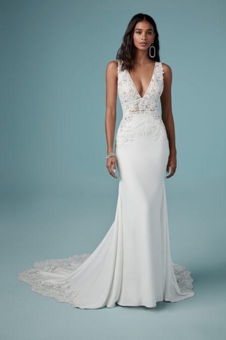 Aidan Wedding Dress from the Maggie Sottero Ambrose Fall 2019 Bridal Collection