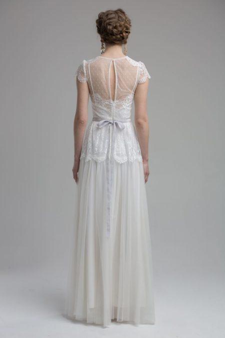 Back of Alexandria Wedding Dress from the KATYA KATYA Wanderlust 2018-2019 Bridal Collection