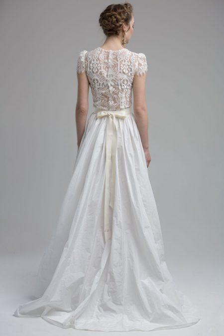 Back of Aspen Wedding Dress from the KATYA KATYA Wanderlust 2018-2019 Bridal Collection