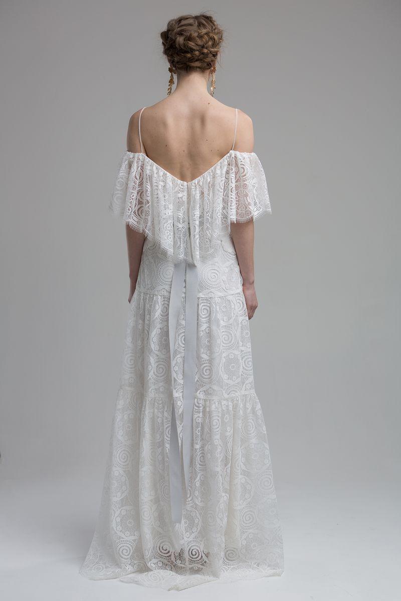 Back of Brooklyn Wedding Dress from the KATYA KATYA Wanderlust 2018-2019 Bridal Collection