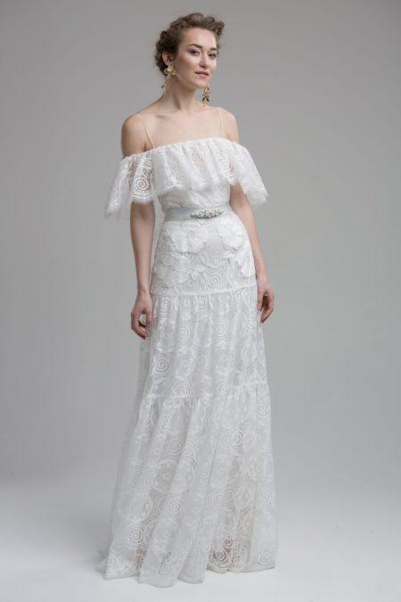Brooklyn Wedding Dress from the KATYA KATYA Wanderlust 2018-2019 Bridal Collection