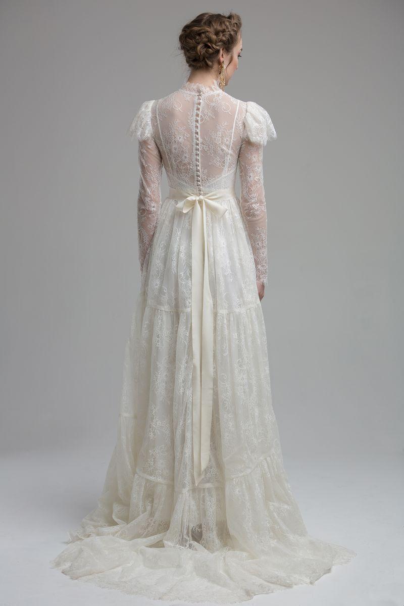 Back of Camilla Wedding Dress from the KATYA KATYA Wanderlust 2018-2019 Bridal Collection