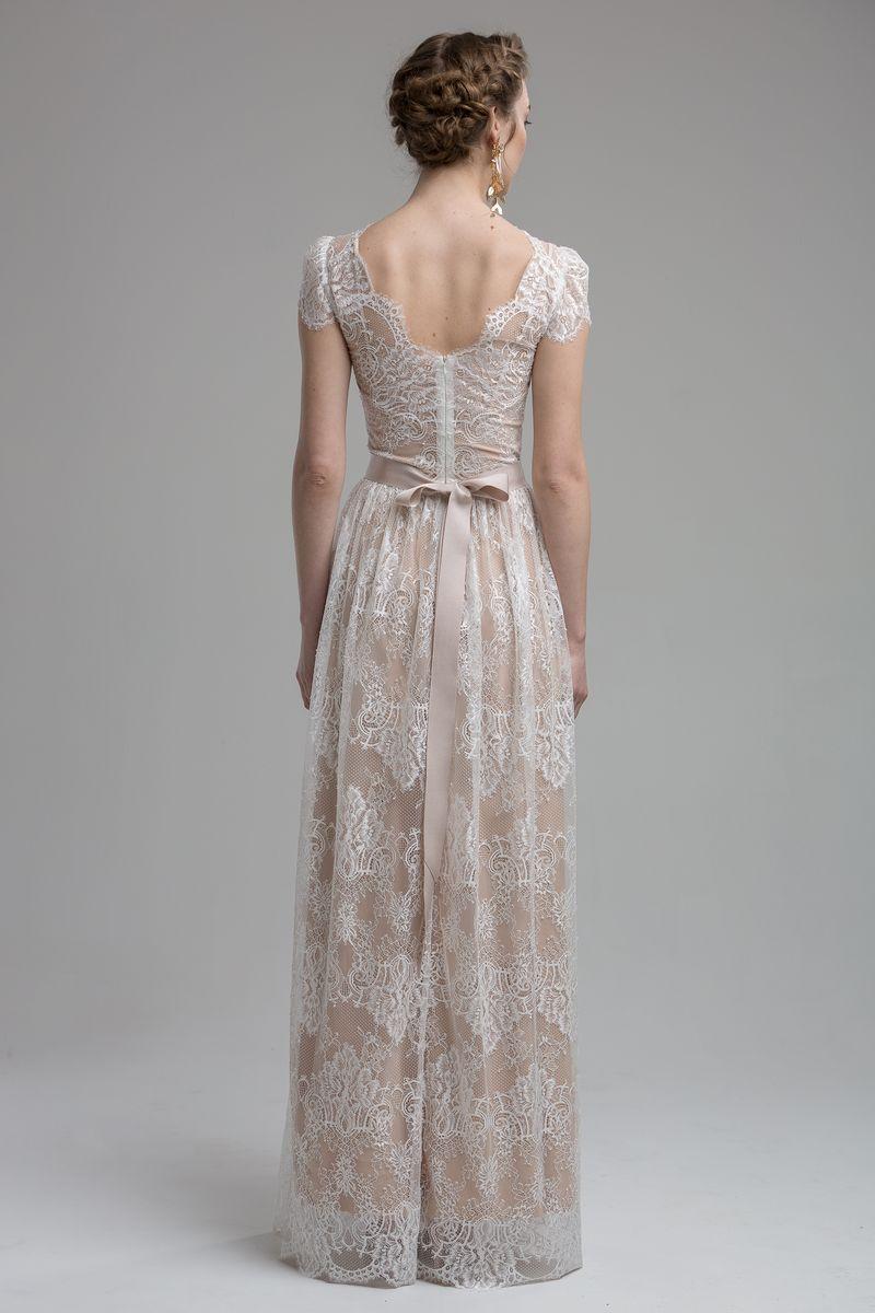 Back of Coral Wedding Dress from the KATYA KATYA Wanderlust 2018-2019 Bridal Collection