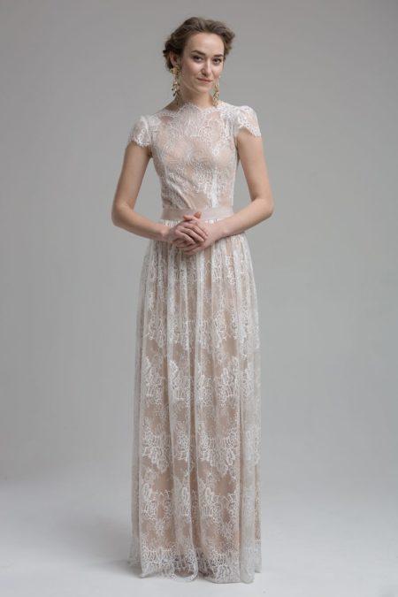 Coral Wedding Dress from the KATYA KATYA Wanderlust 2018-2019 Bridal Collection
