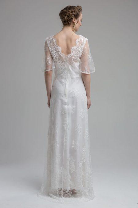 Back of Dakota Wedding Dress from the KATYA KATYA Wanderlust 2018-2019 Bridal Collection