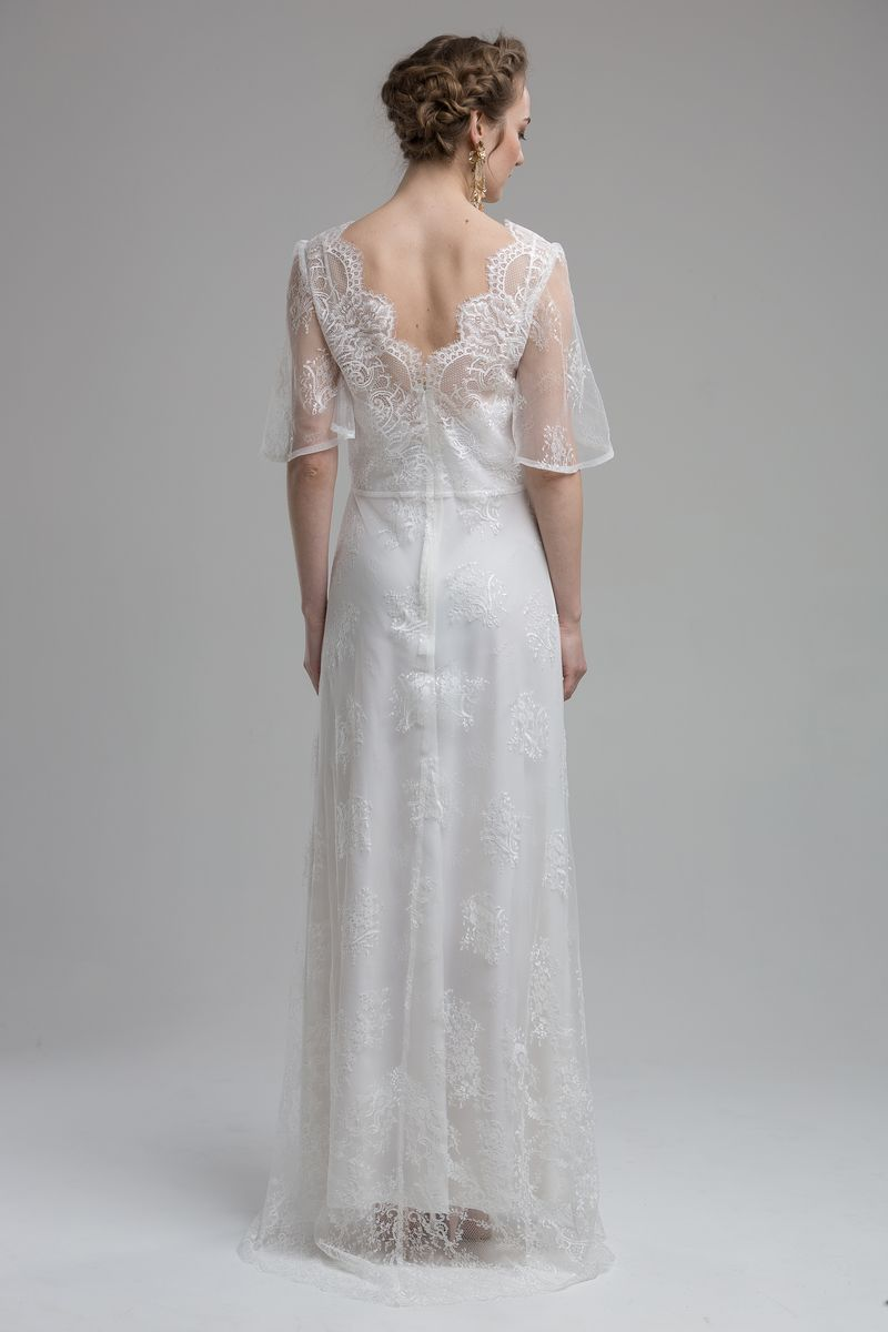 Back of Dakota Wedding Dress from the KATYA KATYA Wanderlust 2018-2019 Bridal Collection