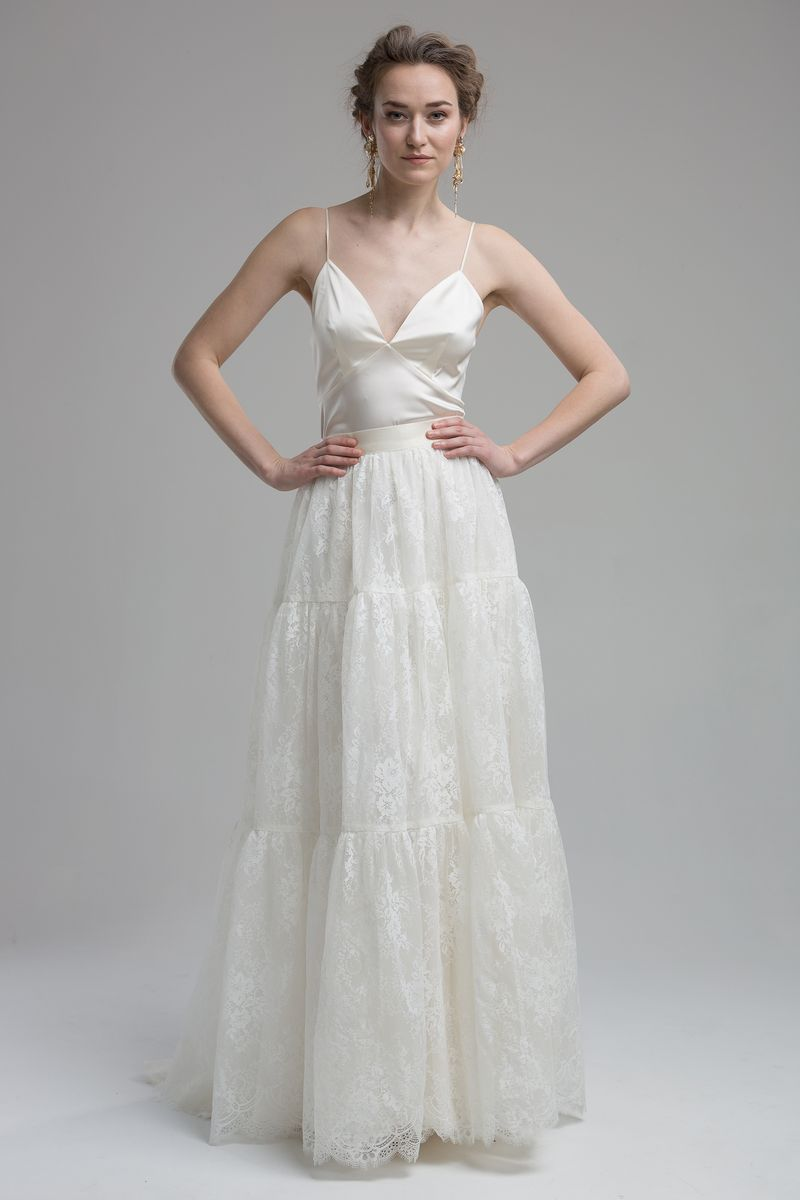 Dale Top with Ocean Skirt from the KATYA KATYA Wanderlust 2018-2019 Bridal Collection