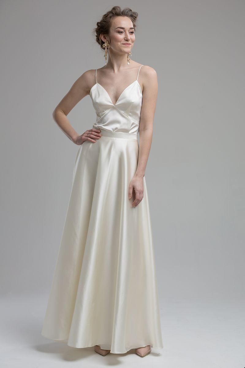 Dale Top with Terra Skirt from the KATYA KATYA Wanderlust 2018-2019 Bridal Collection