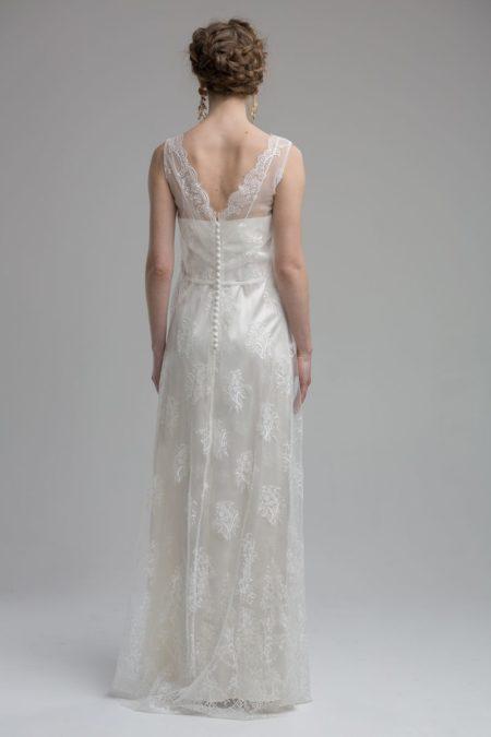 Back of Denali Wedding Dress from the KATYA KATYA Wanderlust 2018-2019 Bridal Collection