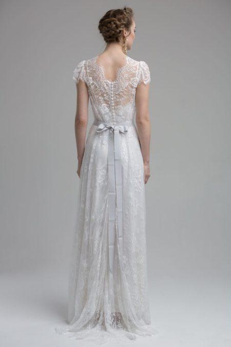 Back of Domenica Wedding Dress from the KATYA KATYA Wanderlust 2018-2019 Bridal Collection