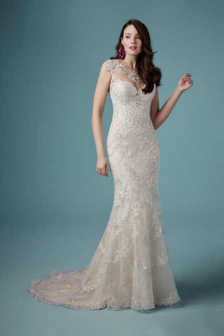 Eileen Wedding Dress from the Maggie Sottero Ambrose Fall 2019 Bridal Collection