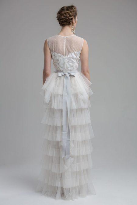Back of Florence Wedding Dress from the KATYA KATYA Wanderlust 2018-2019 Bridal Collection