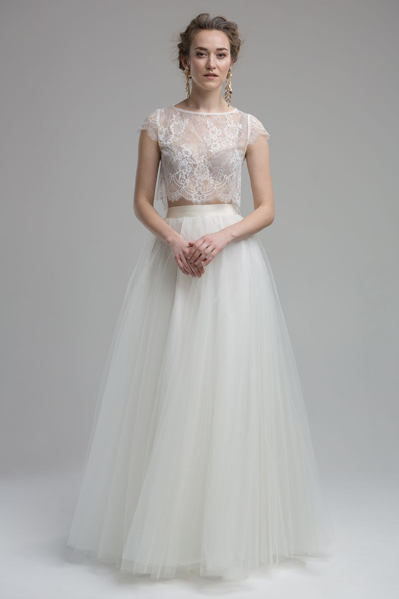 Glenn Top with Lana Skirt from the KATYA KATYA Wanderlust 2018-2019 Bridal Collection