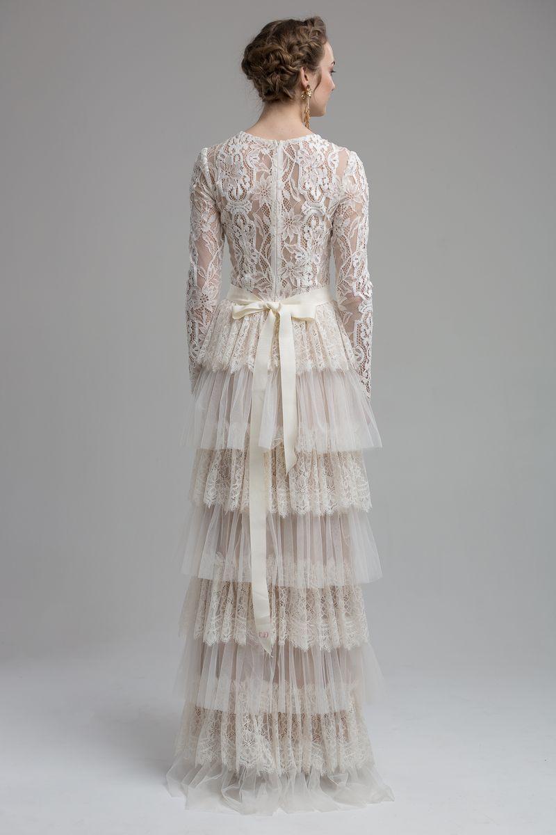 Back of Lake Wedding Dress from the KATYA KATYA Wanderlust 2018-2019 Bridal Collection
