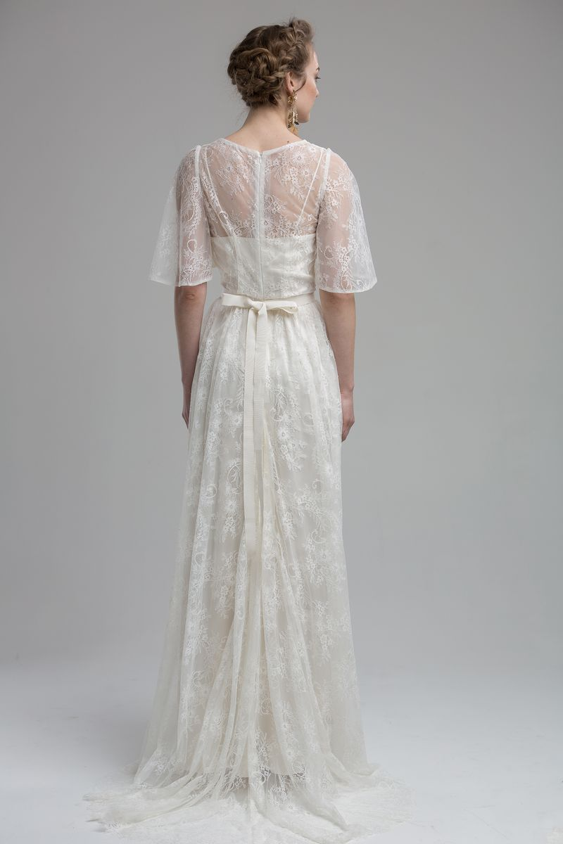 Back of Laramie Wedding Dress from the KATYA KATYA Wanderlust 2018-2019 Bridal Collection