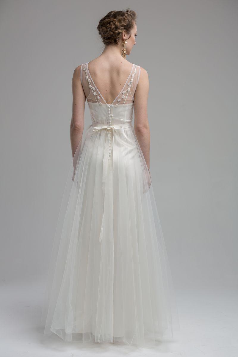Back of Lille Wedding Dress from the KATYA KATYA Wanderlust 2018-2019 Bridal Collection