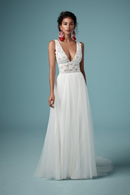Maureen Wedding Dress from the Maggie Sottero Ambrose Fall 2019 Bridal Collection