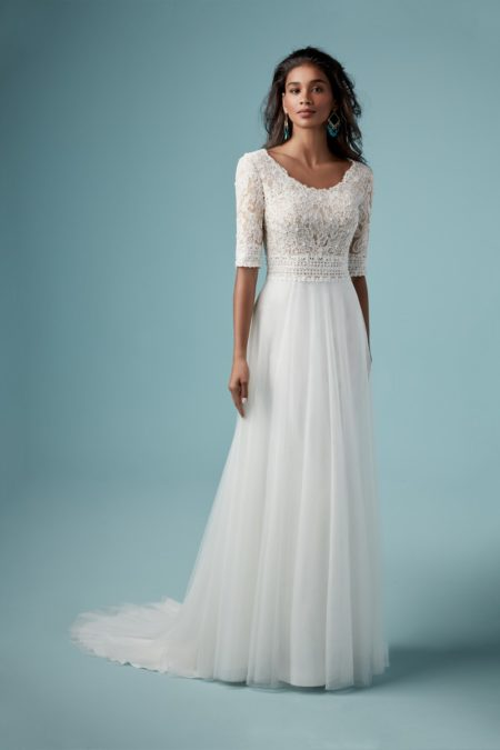 Monarch Leigh Wedding Dress from the Maggie Sottero Ambrose Fall 2019 Bridal Collection