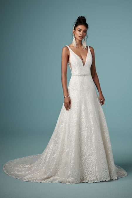 Monica Wedding Dress from the Maggie Sottero Ambrose Fall 2019 Bridal Collection