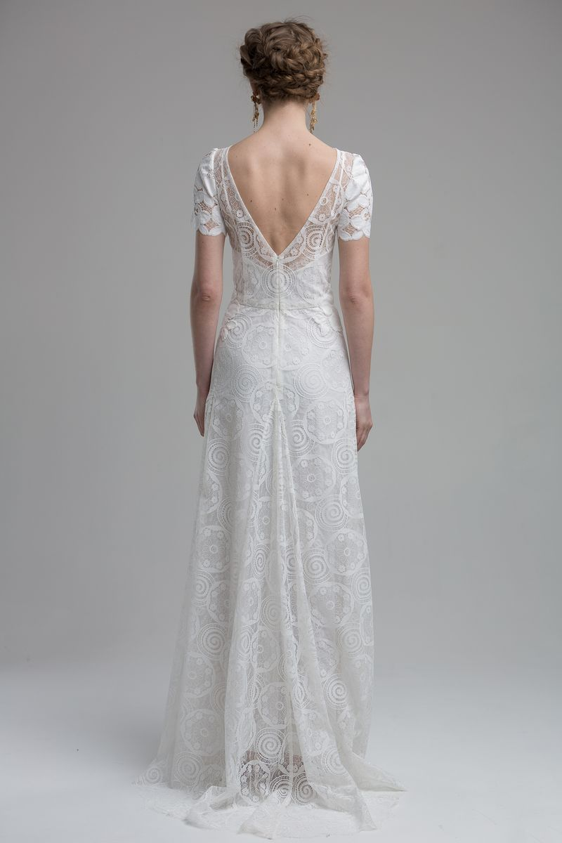 Back of Nara Wedding Dress from the KATYA KATYA Wanderlust 2018-2019 Bridal Collection