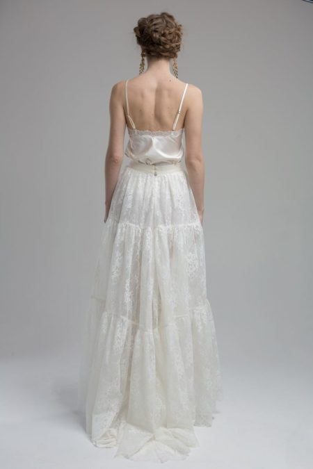 Back of Rio Top with Ocean Skirt from the KATYA KATYA Wanderlust 2018-2019 Bridal Collection