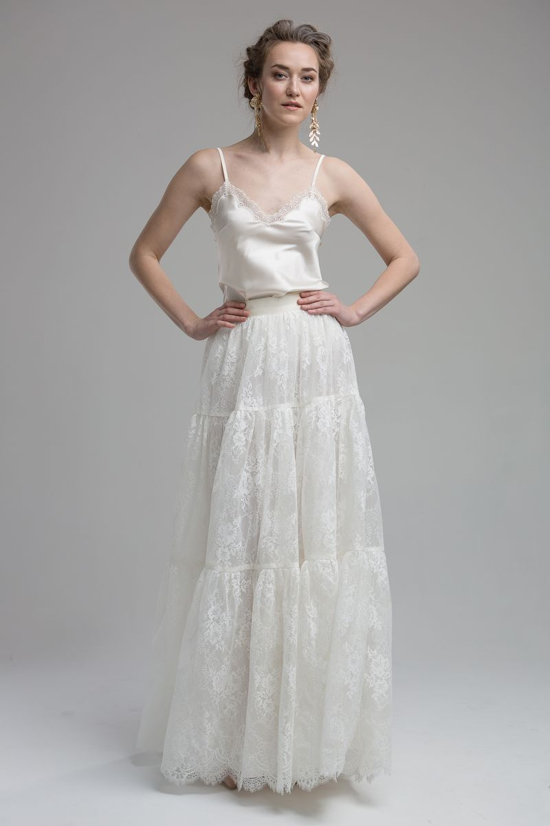 Rio Top with Ocean Skirt from the KATYA KATYA Wanderlust 2018-2019 Bridal Collection