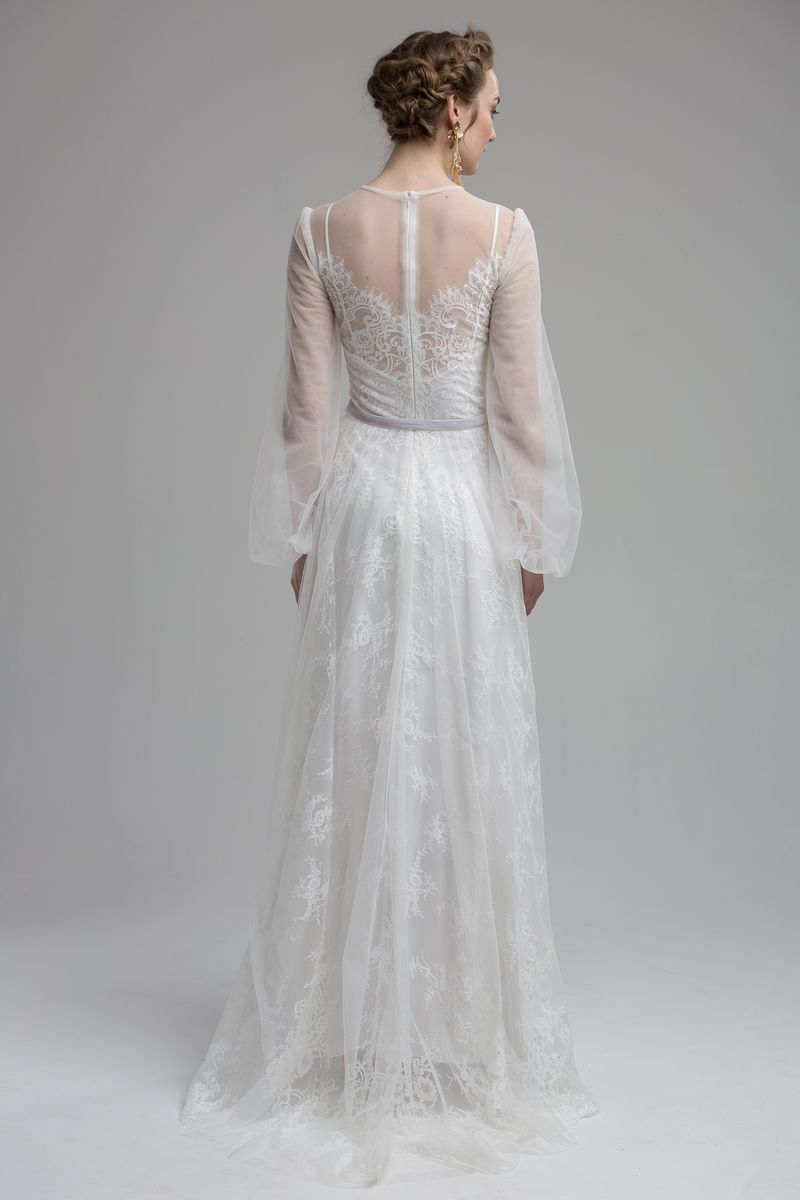 Back of Shannon Wedding Dress from the KATYA KATYA Wanderlust 2018-2019 Bridal Collection