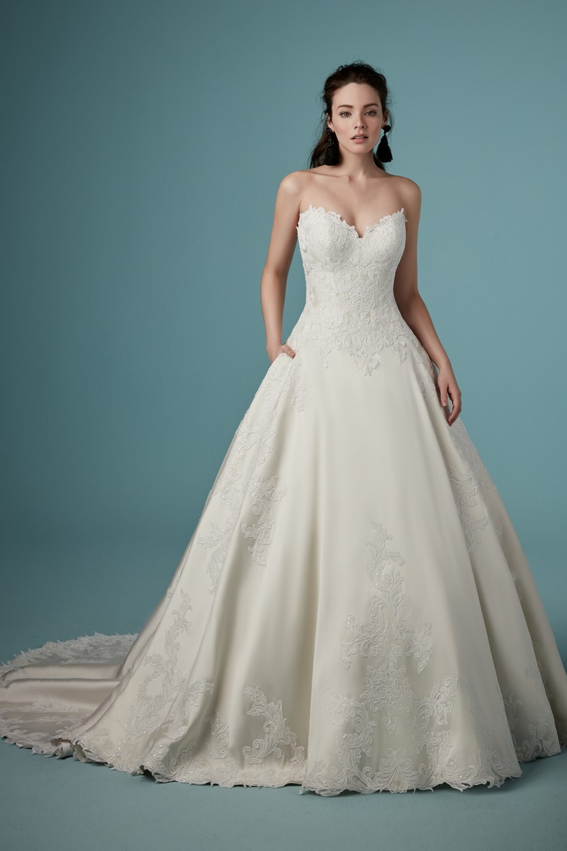 Sheridan Wedding Dress from the Maggie Sottero Ambrose Fall 2019 Bridal Collection