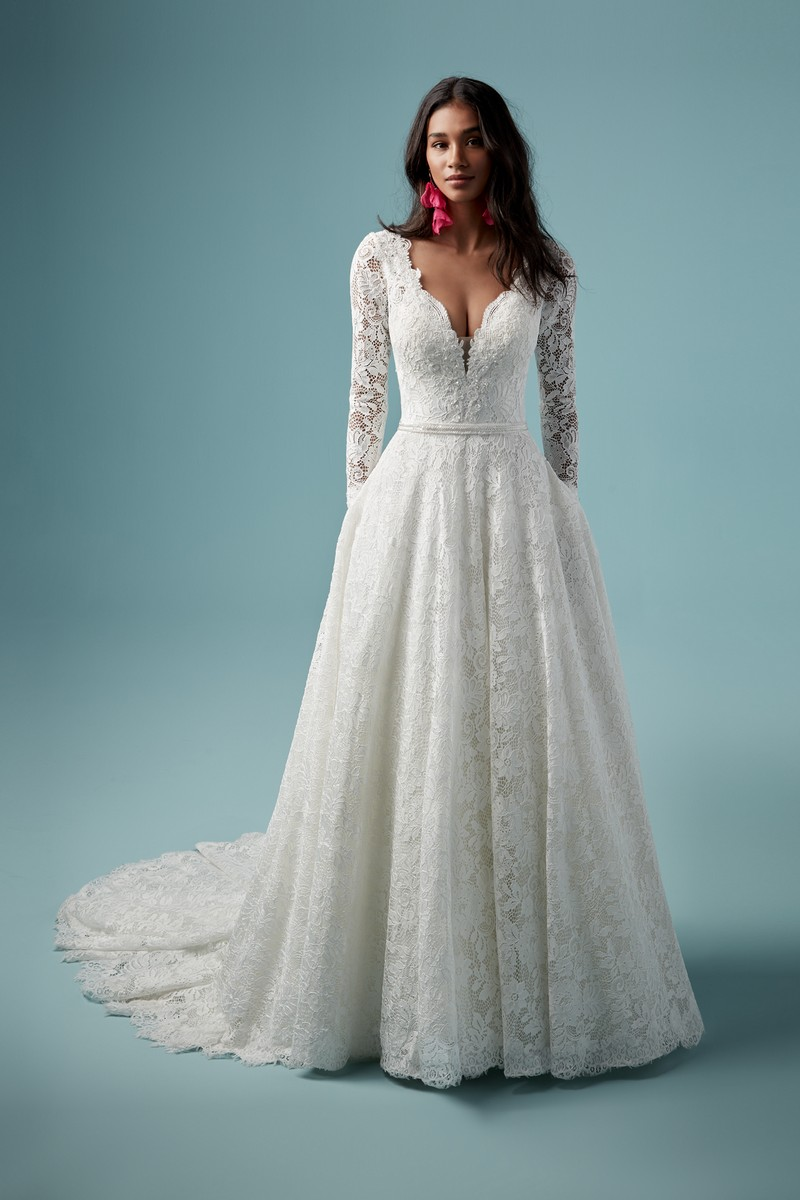 Terry Wedding Dress from the Maggie Sottero Ambrose Fall 2019 Bridal Collection