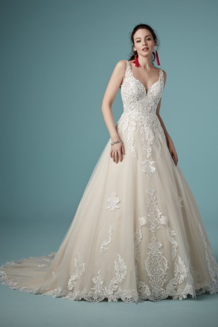 Trinity Wedding Dress from the Maggie Sottero Ambrose Fall 2019 Bridal Collection
