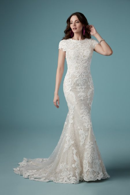 Tuscany Leigh Wedding Dress from the Maggie Sottero Ambrose Fall 2019 Bridal Collection