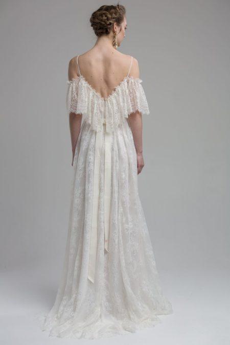 Back of Valencia Wedding Dress from the KATYA KATYA Wanderlust 2018-2019 Bridal Collection