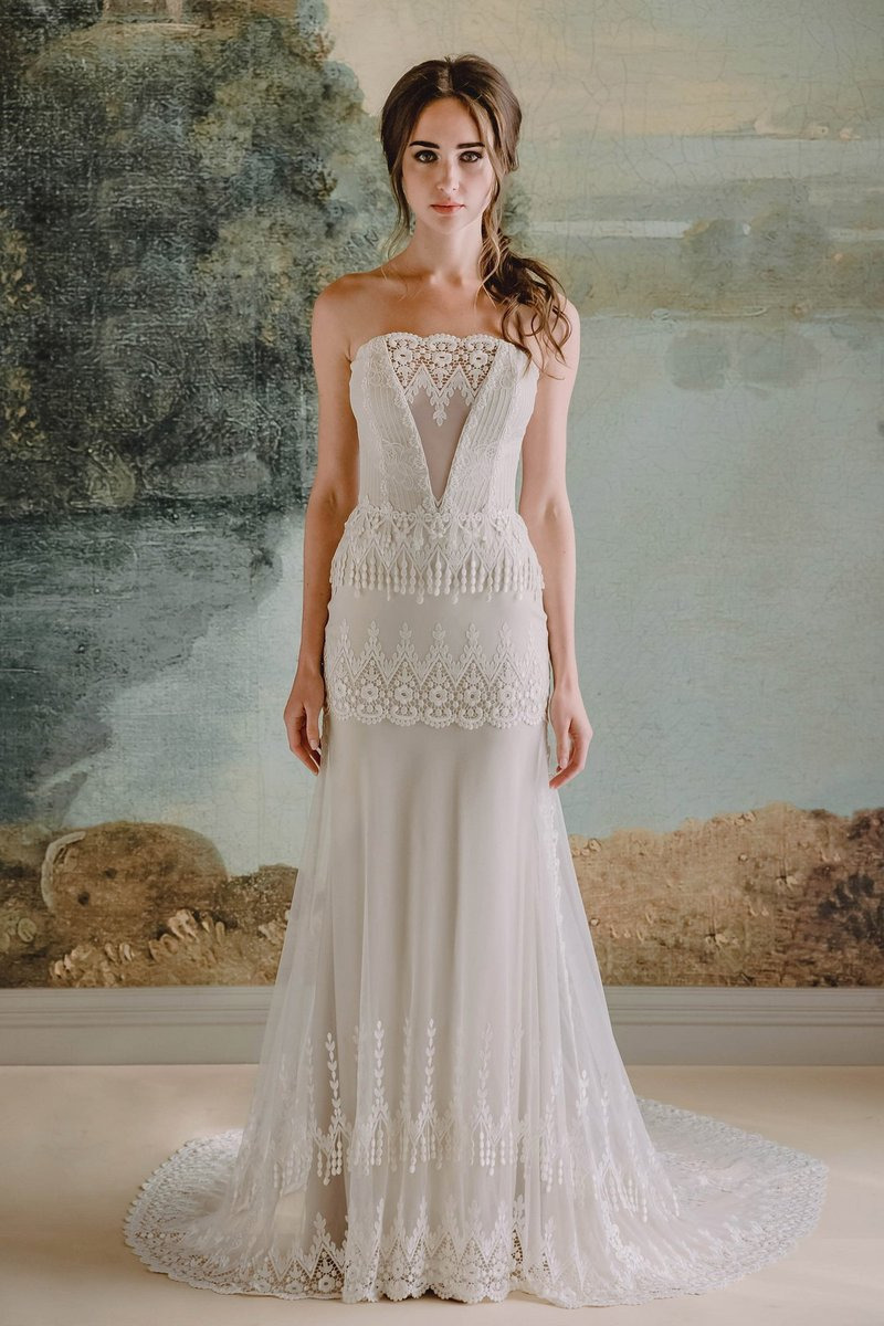 Victoriana Wedding Dress from the Claire Pettibone Timeless Bride 2019 Bridal Collection