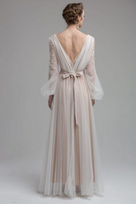 Back of Zaire Wedding Dress from the KATYA KATYA Wanderlust 2018-2019 Bridal Collection
