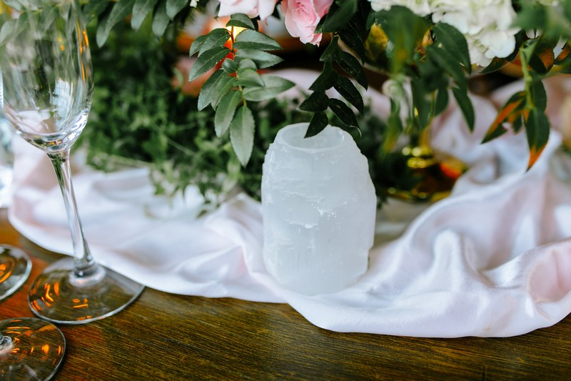 Small ornament on wedding table